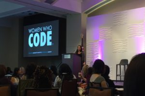Alaina Percival, CEO of Women Who Code